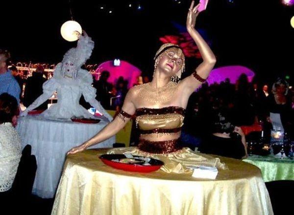 Ballerine da tavolo