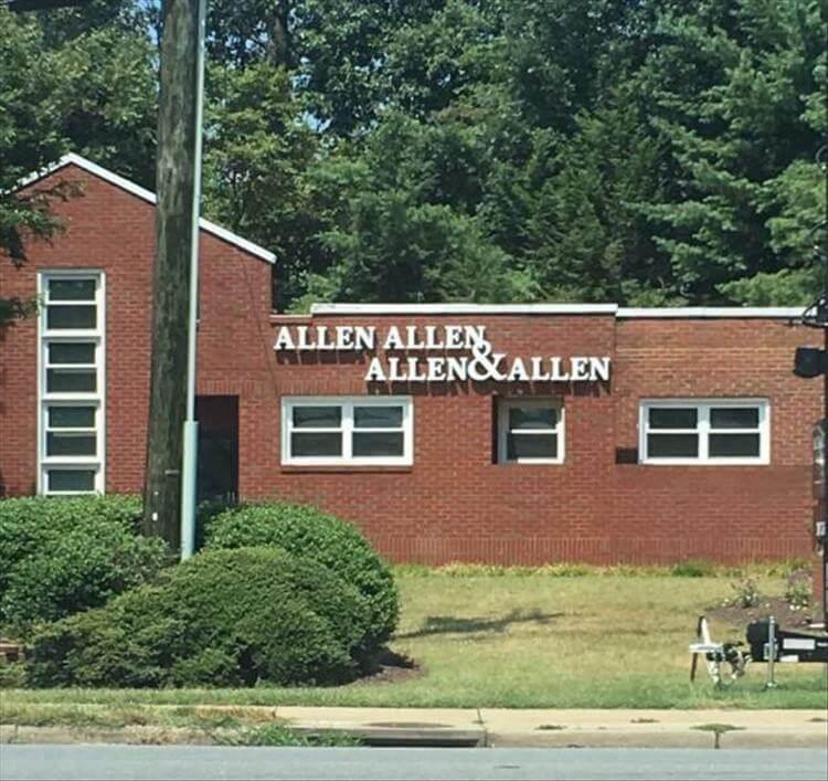Allen, Allen, Allen, Allen