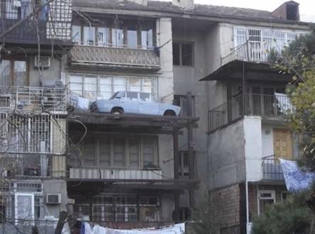 Parcheggio rischioso