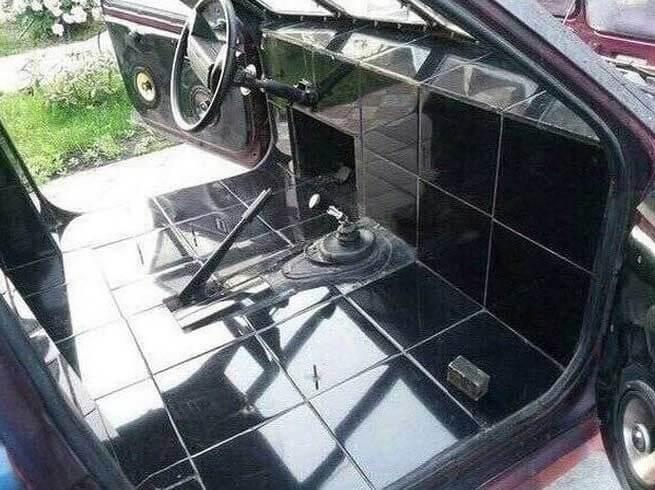 Auto o bagno?