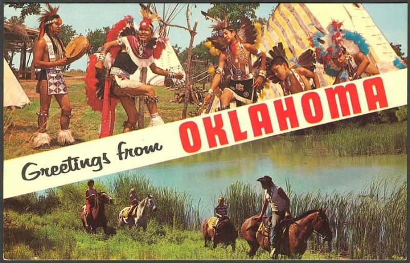 Saluti dall'Oklahoma, augh!