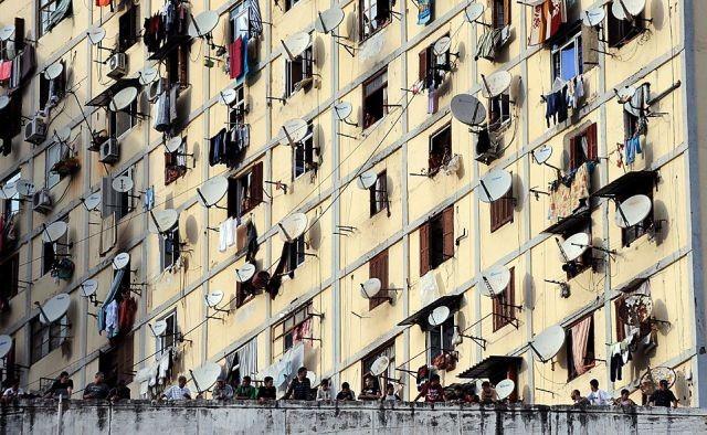 Condominio poco affollato