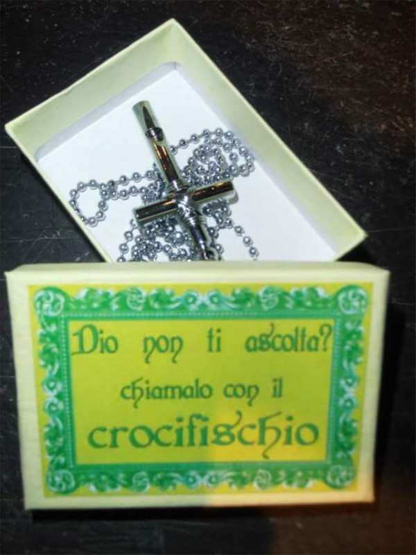 Il crocifischio
