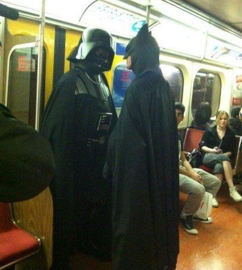 Darth Vader contro Batman