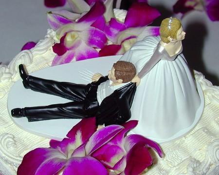 Destino matrimoniale sulla torta