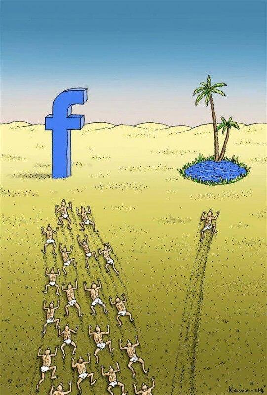 Malati di Facebook