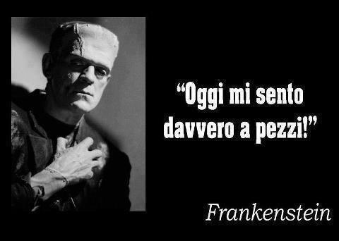 Frankenstein a pezzi