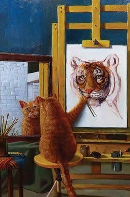 Il gatto tigre