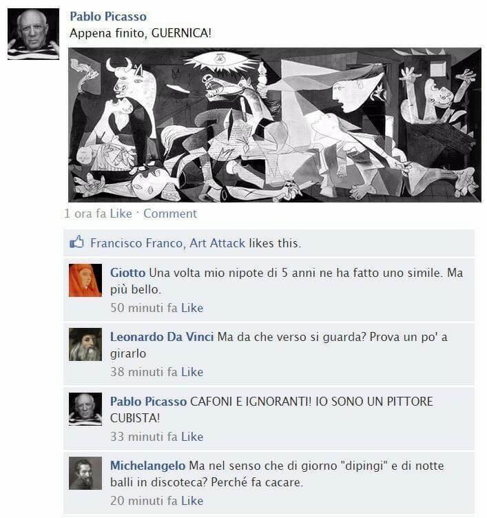 Guernica social