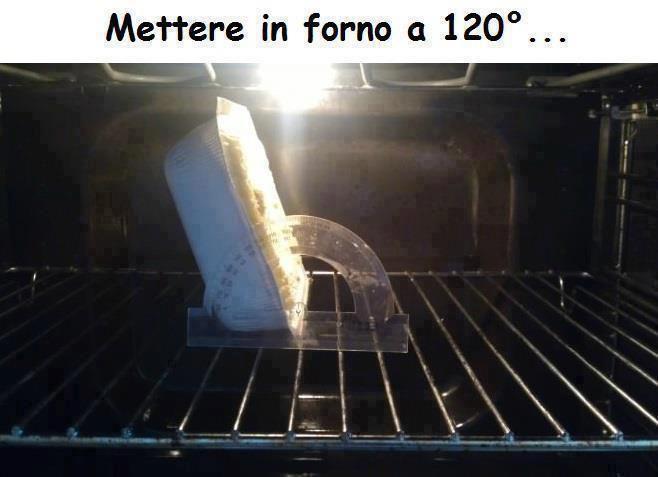 In forno a 120