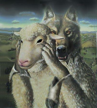 Il lupo pecora