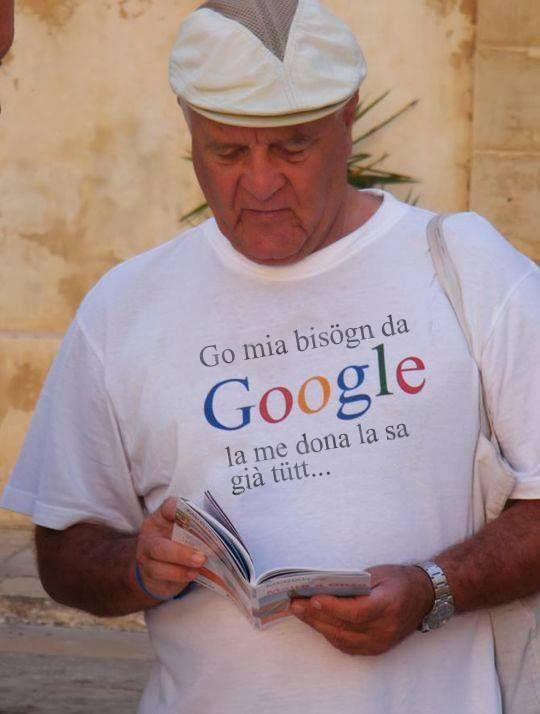 Mia bisogn de Google