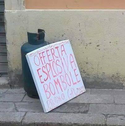 Offerta esplosiva
