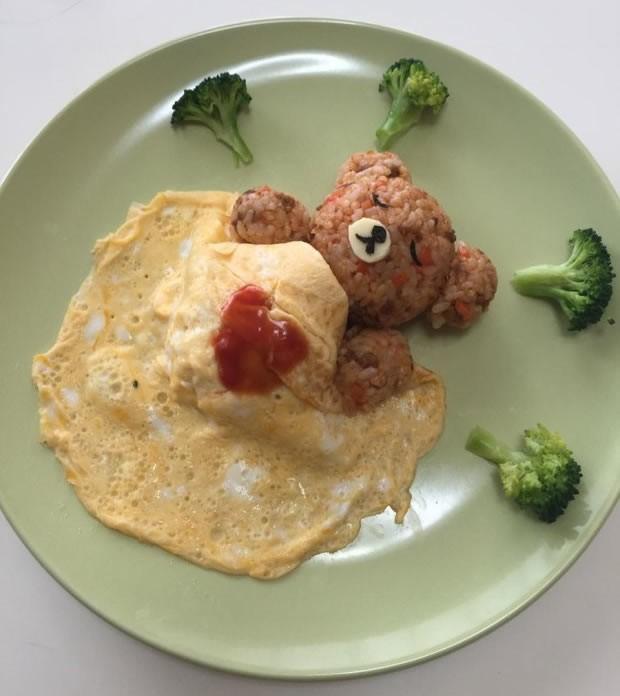 Orso nel piatto