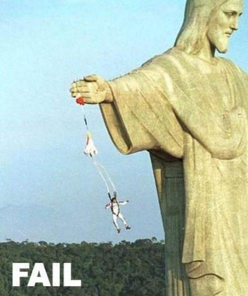 Paracadutismo fallito