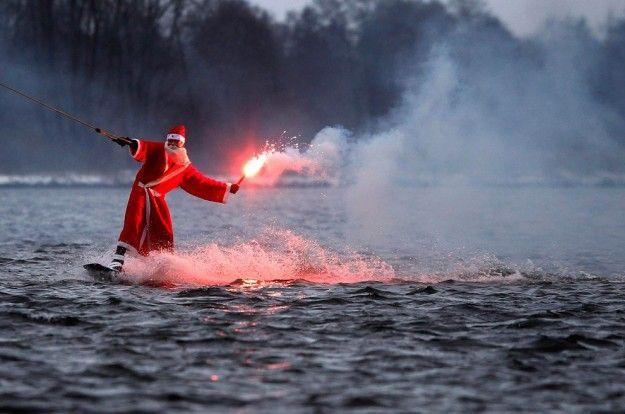 Natale con gli sci... d'acqua