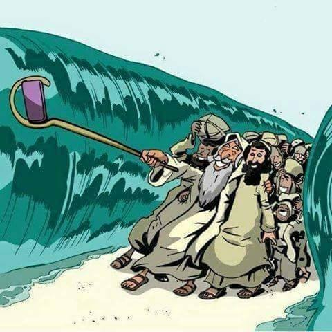 Un selfie con Mosè