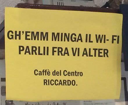 Senza Wi-Fi