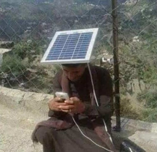 Quando l'unica fonte di energia è solare