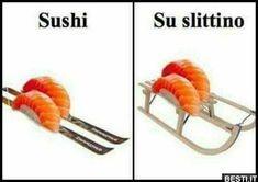 Sushi invernale