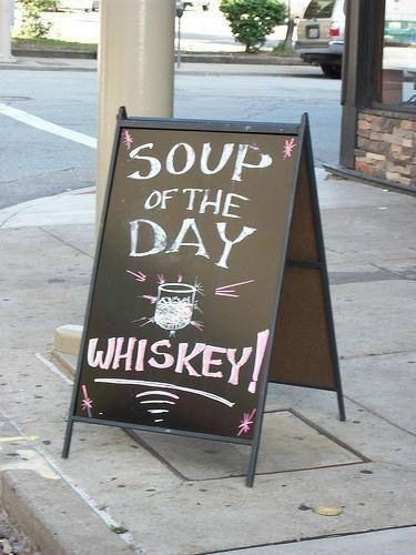 La zuppa del giorno